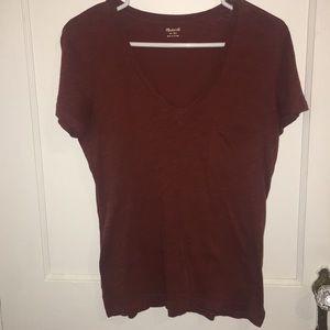 Madewell Whisper Cotton V Neck T-shirt